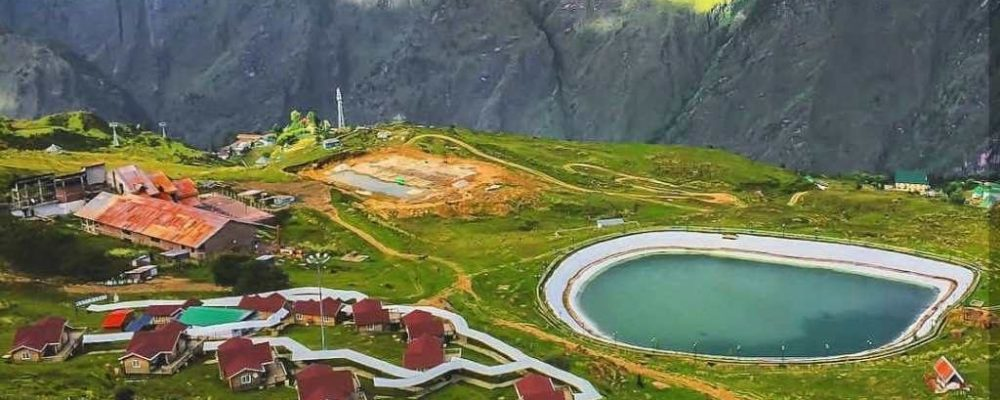 Auli in summers by www.rightindiatravels.com